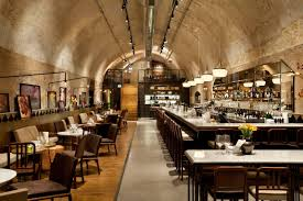 Breslin Bar And Dining Room by Jajo Wine Bar U0026 Restaurant Eating Under The Ground Sarona Tel