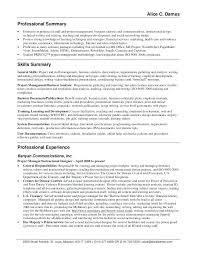 resume summary statement exles management goals resume summary statements foodcity me