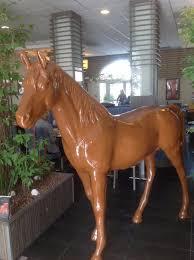 animaux resine jardin cheval en résine cielterre commerce