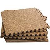 Cork Mats For Bathrooms Amazon Com Bathroom Flooring Cork Tiles 1 4 Home Improvement
