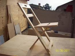 Wood Furniture Plans Pdf perfect wood folding chair plans plan subassembly list inside