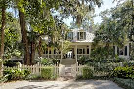 Low Country House Classic Lowcountry Residence Spring Island South Carolina