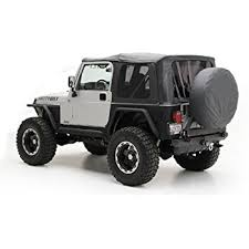 2000 jeep wrangler top replacement amazon com smittybilt 9970235 black oe style replacement