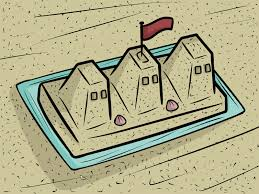 how to build a sand castle with pictures wikihow