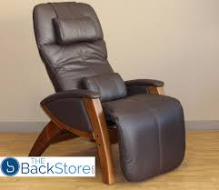 Leather And Wood Chair Svago Sv400 Lusso Zero Gravity Recliner Chair