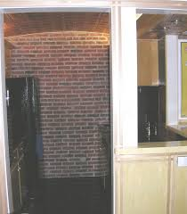 How To Install Thin Brick On Interior Walls Walls Ceilings And Fireplaces Inglenook Brick Tiles Thin