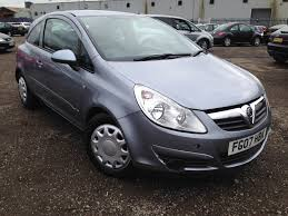 used vauxhall corsa 2007 for sale motors co uk