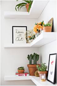 Floating Wood Shelf Plans by Floating Corner Shelves Diy Diy Floating Shelves Click Through