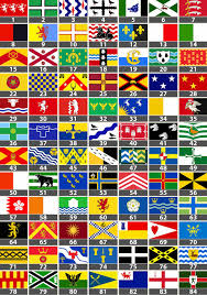 Flag Of The World Could You Recognise The Flag Of Your County Daily Mail Online