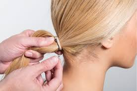 bungees hair a party hairstyle that s truly easy meet the low loop bun