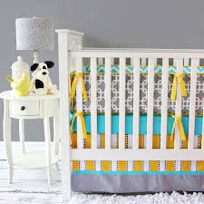 Neutral Nursery Bedding Sets Bright Baby Gray Crib Bedding Set By Caden Rosenberryrooms