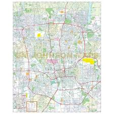 map of columbus columbus ohio map gm johnson maps