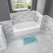 Bathtub No Slip American Standard Press Durable Americast Tubs Offer Innovative