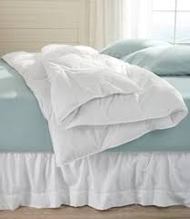Storing Down Comforter White Bay Supersize Down Comforter The Company Store Beach