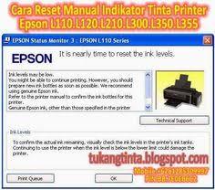 reset printer l210 manual pusat modifikasi printer infus error saat cleaning head printer