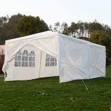 goplus tp2015wh outdoor 10 u0027x20 u0027canopy party wedding tent heavy
