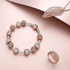 rose gold silver bracelet images Pandora rose collection rose gold jewelry pandora jpg