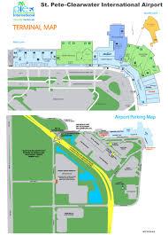 Florida Airport Map St Petersburg Maps Florida U S Maps Of St Petersburg