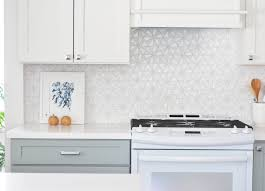 white tile backsplash kitchen simply cabinets types of countertop