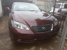 lexus es accessories 2007 lexus es 350 3 5m autos nigeria