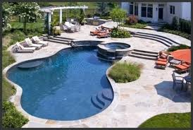 Big Backyard Landscaping Ideas Big Backyard Pool Ideas Play Equipment Takes Up Lots Of Otherwise