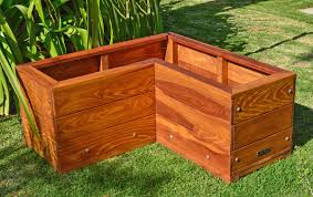 Corner Trellis The Forever Corner Planters Built To Last Decades Forever Redwood