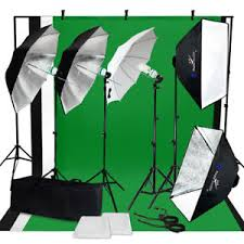 backdrop stand photo studio photography continuous lighting kit muslin