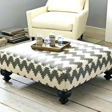 Upholstered Ottomans Ottoman Coffee Table With Shelf Furniture Cheap Unfinished Wood