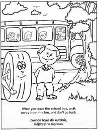 interesting inspiration bus safety coloring pages ccsd