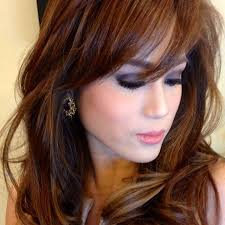 filipina artist with copper brown hair color 107 best filipina world class beauties images on pinterest