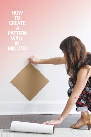 how make pattern wall decal installation trendy how make pattern wall