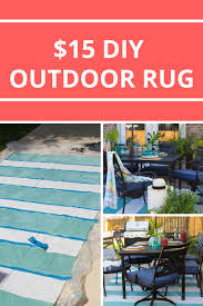Diy Outdoor Rug Painted Rug From A Drop Cloth