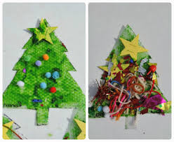 sensory christmas tree craft the empowered educator