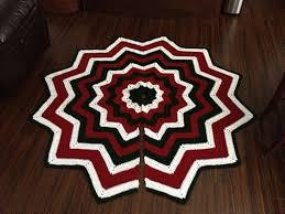 100 best crochet christmas tree skirt images on pinterest