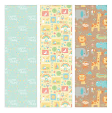 baby shower paper alphabet gift wrap roll 24 x 16 health personal care