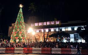 Honolulu City Lights Holululu City Lights Parade Dec 5