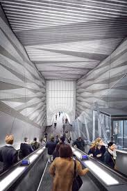 stations art and public space crossrail s approach to design 05 liverpool street station proposed upper escalator with inclined lift from broadgate ticket hall