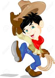 cute cowboy kid cartoon royalty free cliparts vectors and stock