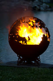 decorations up north fire pit sphere the fire pit gallery then