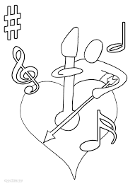 cool music coloring sheets best and awesome co 3939 unknown