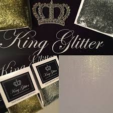 glitter paint crystals silver no1 best seller by king glitter