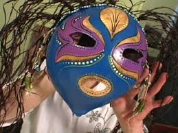 how to make a mask for halloween how to make a colorful gourd art mask hgtv