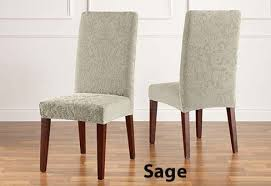 damask chair covers dining chair cover in rich stretch jacquard damask
