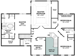 First Floor Master Bedroom Floor Plans Mountain View At Hunterdon Quick Delivery Home Hopewell Williamsburg