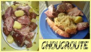 cuisiner choucroute recette choucroute 750g