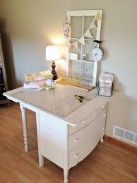 Diy Sewing Desk Carried Away Quilting Diy Cutting Table