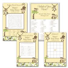 photo baby shower word search with image