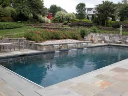 Backyard Landscaping With Pool by Pool Landscape Ideas On A Budget Dc Swimming Pools Spas Dc