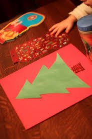 Decorate Christmas Tree On Paper by Sticker Christmas Tree Craft For Kids Hands On As We Grow