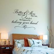bedroom wall quotes custom vinyl wall window decal quotes phrases sayings for